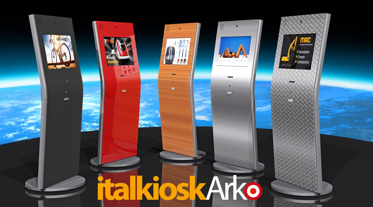 Italkiosk Arko - New Plug-in Totem Kiosk