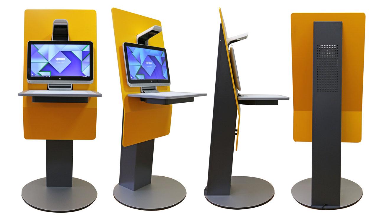 Kiosk Station è il primo totem equipaggiato con HP Sprout