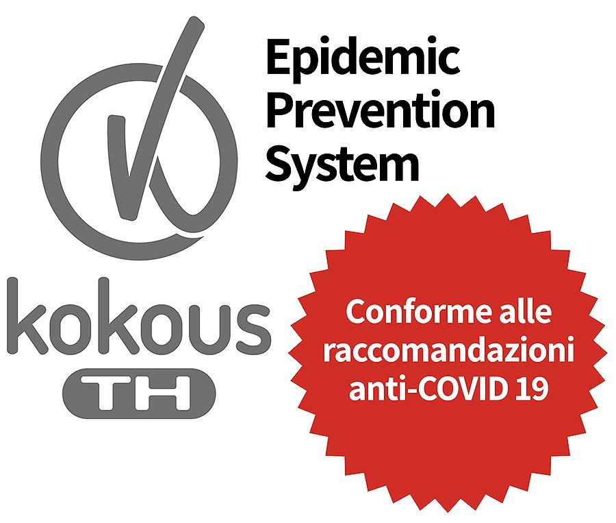 Termoscanner Kokous TH - conforme alle raccomandazioni anti-COVID 19
